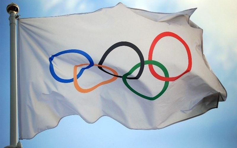 Bendera Olimpiade. (IOC)